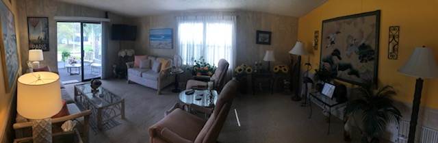 Living room panoramic
